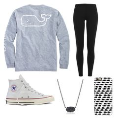 """""""Vineyard vines"""" by egloomis on Polyvore featuring Vineyard Vines, Polo Ralph Lauren, Converse, Kendra Scott and Casetify"""