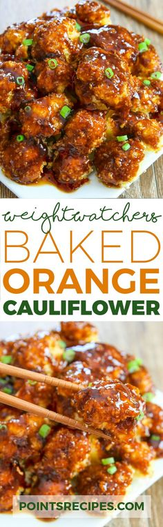 BAKED ORANGE CAULIFLOWER (WEIGHT WATCHERS SMARTPOINTS)