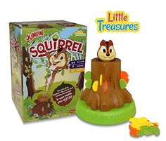 Little Treasures Jumpin Squirrel Game Give Right Amount of Acorns 3 Years and Up -- Read more reviews of the product by visiting the link on the image.Note:It is affiliate link to Amazon.