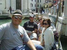 Ride a gondola in Venice.  Check!