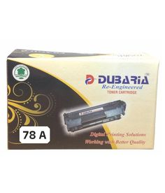 Loved it: Dubaria 78A Black Toner Cartridge Compatible for HP 78A / CE278A, http://www.snapdeal.com/product/dubaria-78a-black-toner-cartridge/1643172578
