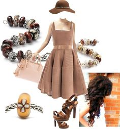 """Chic Sunday"" by mytrollbeads on Polyvore"