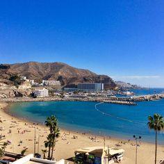 Puerto Rico Beach, Gran Canaria, #grancanaria @mycanaryislands