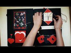 Sevgiliye Hediye / Anı Defteri - Scrapbook 2 - YouTube