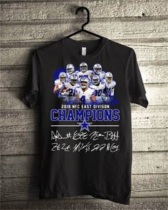 Dallas cowboys team 2018 NFC east division champions shirt - Hot Trend T- Shirts Fasition eb4bde03f