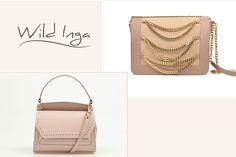 Nude Elena and Scarlett leather bags from Wild Inga for every type of outfit.