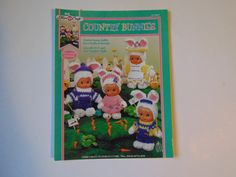 Country Bunnies to Crochet Sunny Outfit by TrinasCraftPatterns
