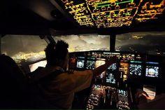 Night Flight - Over Hong Kong