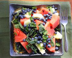 vegetarian recipes for interstitial cystitis: watermelon salad