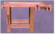 Projeto gratuito no blog: Ah! E se falando em madeira...: Tutorial: Bancada de marceneiro