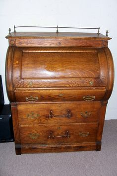 20 Best Antique Roll Top Desks Images Antique Desk Antiques