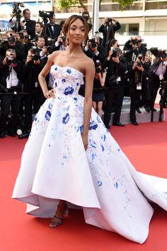 Jourdan Dunn in Ralph & Russo - 2016 Cannes Film Festival
