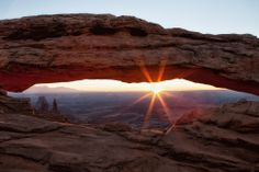 Moab's Mesa Arch in Canyonlands
