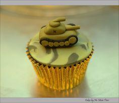 #military cupcakes