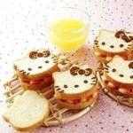 Hello Kitty Sandwiches