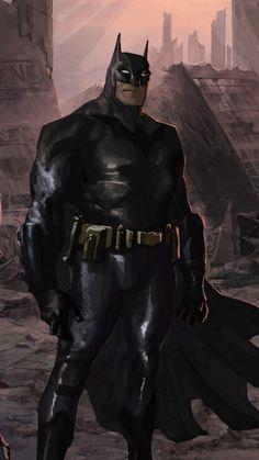Batman and his team, robin, falcon, artwork, 720x1280 wallpaper