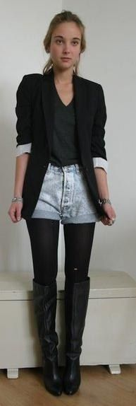 Shorts with Tights | lovelyish
