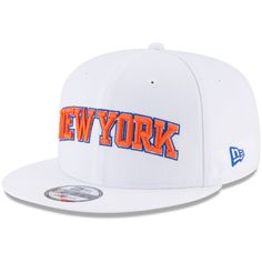 pretty nice 4902c f4ea3 Men s New York Knicks New Era White Statement Edition 9FIFTY Snapback Hat,   29.99 Nba New
