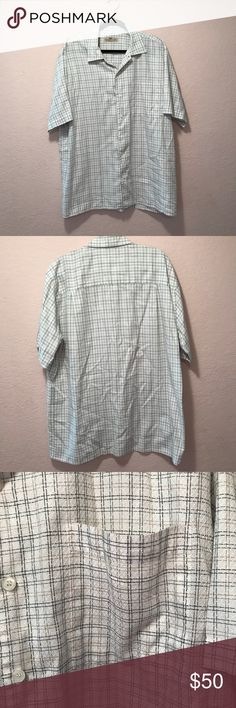 Pronto Uomo button down shirt. Pronto Uomo button down shirt. Used great condition. Label is faded but the material is very soft and feels like cotton.  I am open to offers!  Smoke free and Pet free home.  Thanks for checking out my closet and let me know if you have any questions! Pronto Uomo Shirts Casual Button Down Shirts