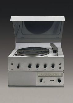 Classic Braun Record Player (LP & 45RPM speed).
