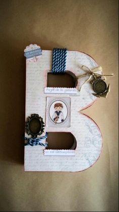 Letra decorada para Bruno by Dorae and Co