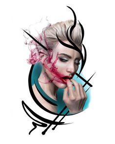 Мой второй любимый эскиз🥰 Где эта девушка, на которой будет красоваться подобная прелесть?🧐 ———— Я готова сделать его на особых условиях и… 13 Tattoos, Famous Tattoos, Turkey Tattoos, Aquarell Tattoo, Street Art News, Trash Polka Tattoo, Tattoo Themes, Dark Images, Tattoo Magazines