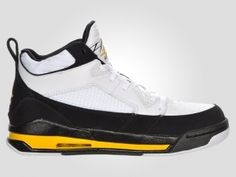 sale retailer 7d59b f87ed authentic jordan flight 9 mens basketball shoes white black varsity maize  for sale -
