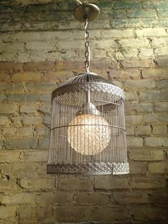 Genial Birdcage Light Fixture  Love It! | For The Home | Pinterest | Birdcage Light,  Lights And Nest