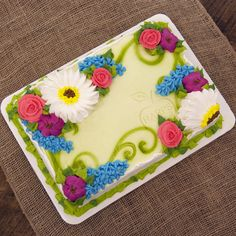 Harps Foods provides groceries to your local community. Cake Decorating Piping, Cake Decorating Videos, Cake Decorating Techniques, Decorating Ideas, Sweets Cake, Cupcake Cakes, Sheet Cake Designs, Foto Pastel, Birthday Sheet Cakes