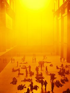 The Weather Project/  Olafur Eliasson Photo    2003 Tate, London    http://www.tate.org.uk/modern/exhibitions/eliasson/about.htm