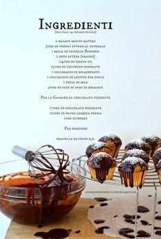 PANEDOLCEALCIOCCOLATO: Banana Cupcake whit chocolate and coconut e quelli che Cagliari!