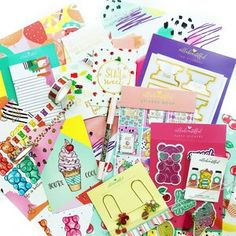 "Trendy stickers, monthly themed planner kits to ""beautiffy your planner"" Diy Crafts, Tutti Frutti, Kit, Stickers, June, Make Your Own, Homemade, Craft, Diy Artwork"