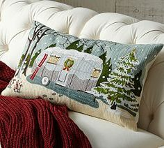 Holiday Pillows & Holiday Throw Pillows | Pottery Barn  Own it!!!  Love it!