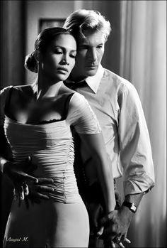 Taniec to śpiew ciałem...   Richard Gere et Jennifer Lopez