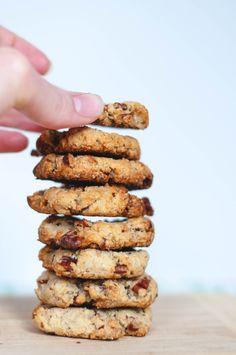 Gluten Free Vegan Pecan Ginger Cookies - The Scratch Artist-27