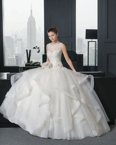 23 vestidos de noiva modelo princesa 2015 cheios de sofisticação e elegância Image: 6