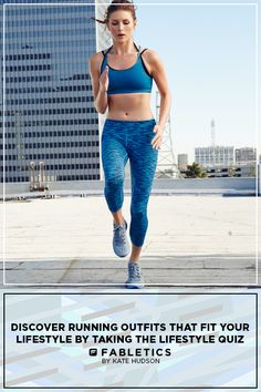 Perfect For Your Sweatiest Runs. Stay Completely Dry (and totally on-trend) in our Strappy Tanks and Smooth, Chafe-Resistant Salar Leggings! Discover Running Outfits that Fit your Lifestyle by taking our Lifestyle quiz! Fitness Goals, Fitness Tips, Fitness Motivation, Health Fitness, Workout Attire, Workout Wear, Workout Outfits, Running Outfits, Stay In Shape