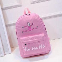 Ha Ha Ha Backpack (Assorted Colours)