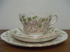 Gorgeous Shelley Tea Cup Trio by SophiesCupboard on Etsy, £20.00