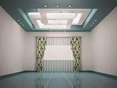 Modern Pop False Ceiling Designs For Living Room With LED Ceiling Lighting  System