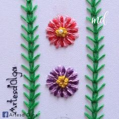 Decorative stitching tips for all the hand embroidery lovers out there! Decorative stitching tips for all the hand embroidery lovers out there! Creative Embroidery, Simple Embroidery, Learn Embroidery, Crewel Embroidery, Embroidery Kits, Ribbon Embroidery, Cross Stitch Embroidery, Embroidery Supplies, Indian Embroidery