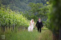 Virginia and Timothy - Tuscan vineyards