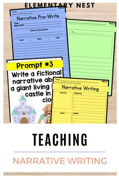 Teaching Narrative Writing Tips and Activities. In this teaching resource blog post I am going to share best practices I think are best, mentor text suggestions, and even a closer look at Common Core expectations. I hope you can walk away with ideas, activities, and inspiration for your narrative writing lesson plans.Learn more here!
