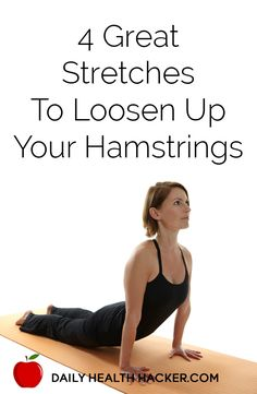4 Great Stretches To Loosen Up Your Hamstrings mobility exercises shin splints