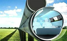 Elon Musk's hyper loop could speed people from San Francisco to Los Angeles in 30 minutes going approximately 700 mph.