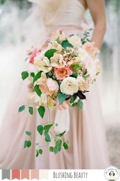 Snippets, Whispers and Ribbons – 5 Perfect Palettes for a Summer Wedding