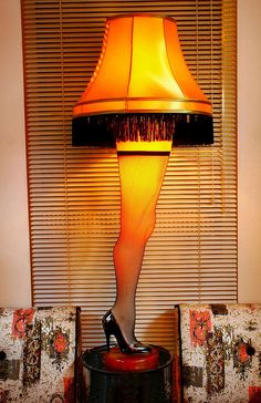 """Leg Lamp """"A Christmas Story """" who isn't a fan of this movie? And yeah I wish I could've had this lamp :-("""