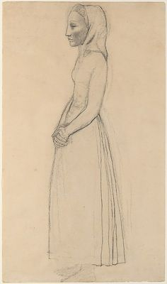 Pablo Picasso, Young Woman of Gósol, 1906