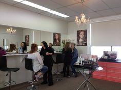 Exclusive makeup studio Pamper Party, Conference Room, Makeup Studio, Parties, Furniture, Home Decor, Fiestas, Decoration Home, Room Decor