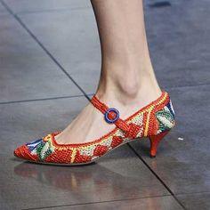 15+ Alçak Topuklu Ayakkabı Modelleri-7